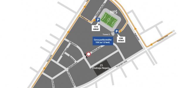 acdb77be3d4b MS v hokeji  Stovka obyvateľov z okolia štadióna získa dočasné bezplatné  parkovisko